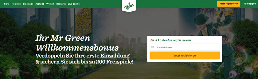 mr green casino testbericht