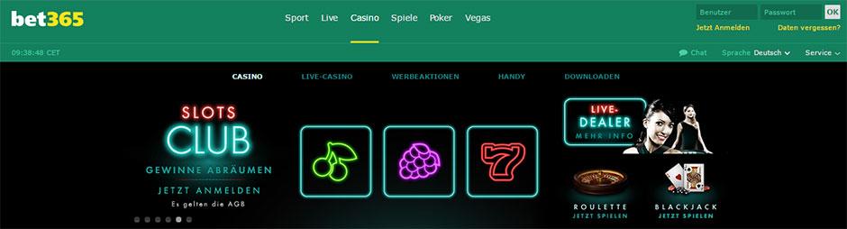 bet365 casino testbericht