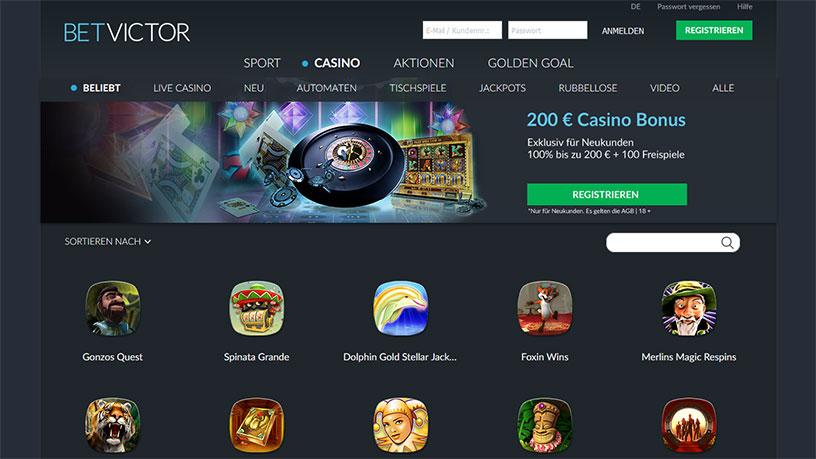 betvictor-casino-lobby