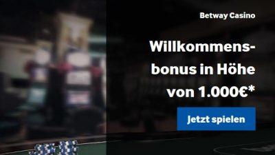 betway-1000-bonus online casino startguthaben