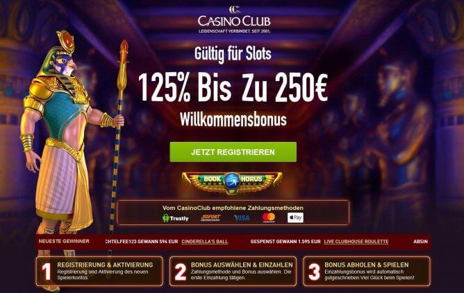 Casino Club Angebot