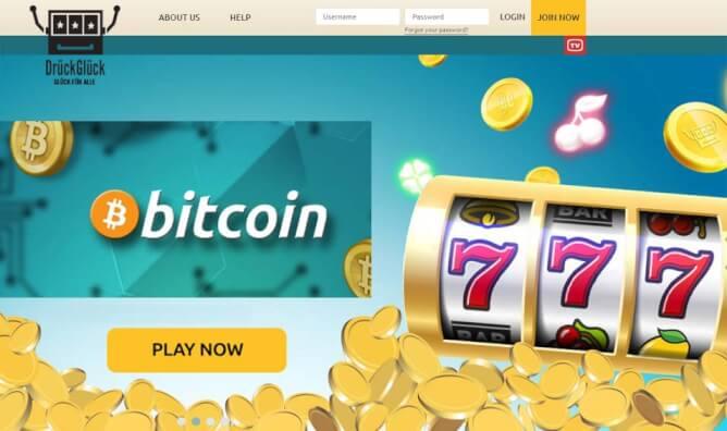 bitcoin online casino drück glück