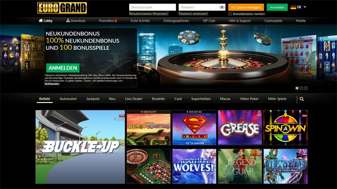 Online Casino Euro Grande