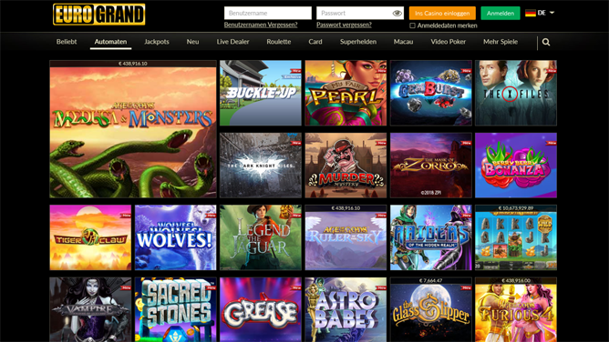 eurogrand online casino erfahrungen