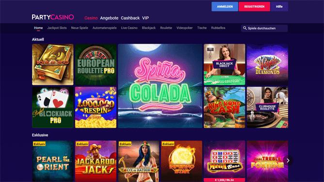 party-casino-spiele