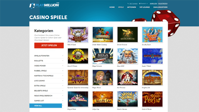 playmillion-casino-spiele