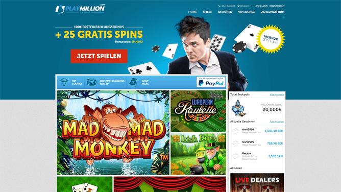 Playmillion Casino Erfahrungen