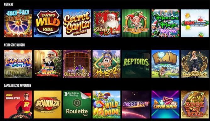 rizk-casino-games