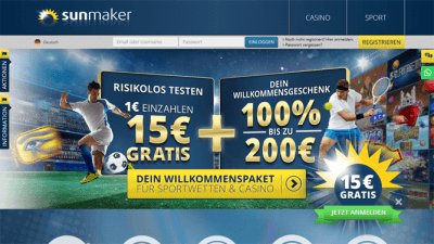 sunmaker-casino-bonus