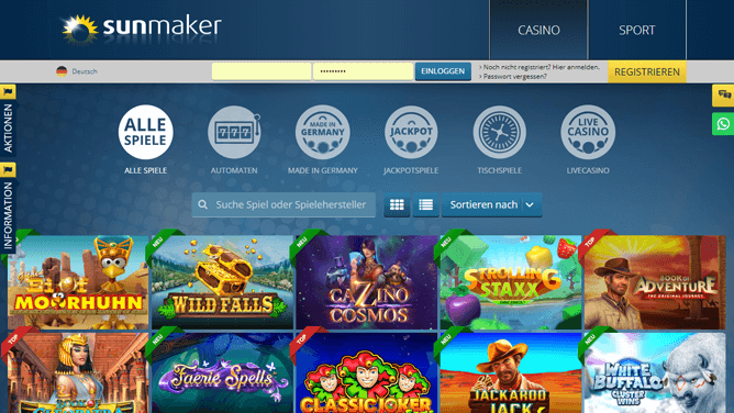Sunmaker Casino Betrug